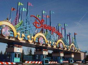 L'ingresso del parco Disneyland Paris