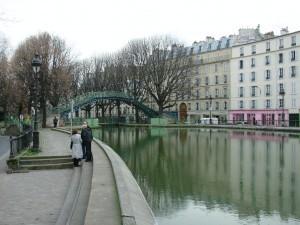 il canale Saint-Martin a Parigi da thinkparisian.wordpress.com