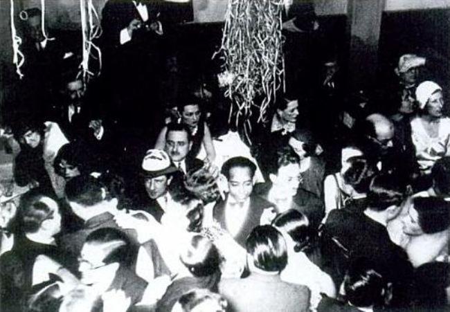 La serata del 21 febbraio 1931 alla Boule Blanche di Parigi