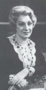 Andreina Pagnani mitica interprete di Mme Maigret nella serie italiana con Gino Cervi
