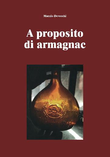 A proposito di Armagnac, la copertina del libro di Marzio Devecchi