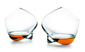 bicchiere da cognac senza stelo