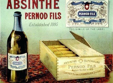 manifesto dell'Assenzio pernod fils.
