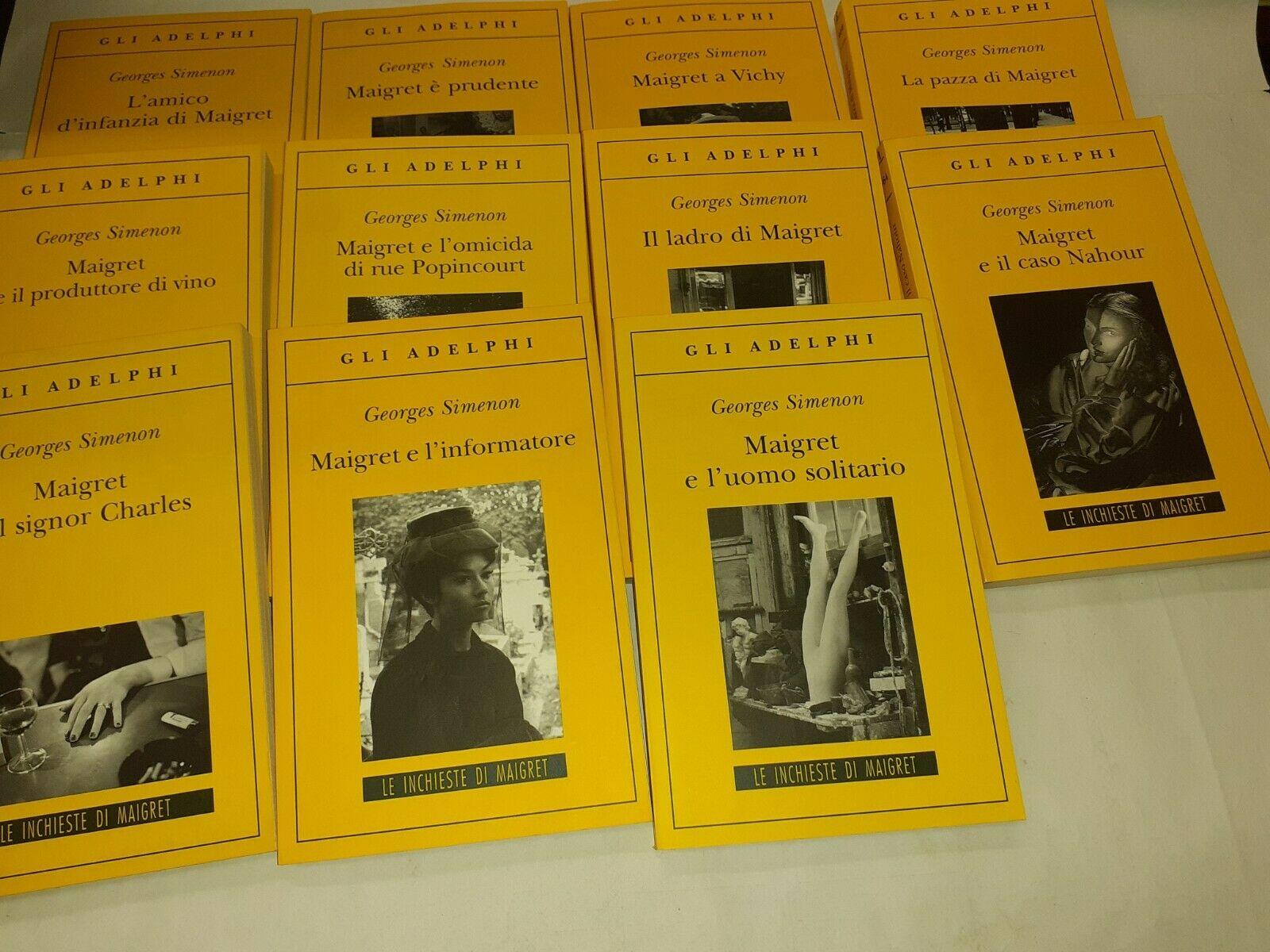 Tutti i romanzi Maigret di Georges Simenon