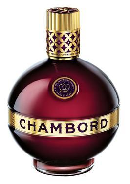 La moderna bottiglia dello Chambord.